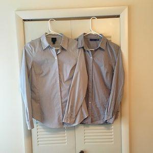 2 Women's Dress Shirts